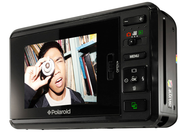 polaroid z2300 instant digital camera print screen
