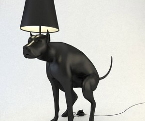 Pooping Dog Lamp is All Class