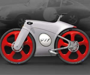 The Porsche 911 Bicycle: Faster Than A Speeding Bullet?