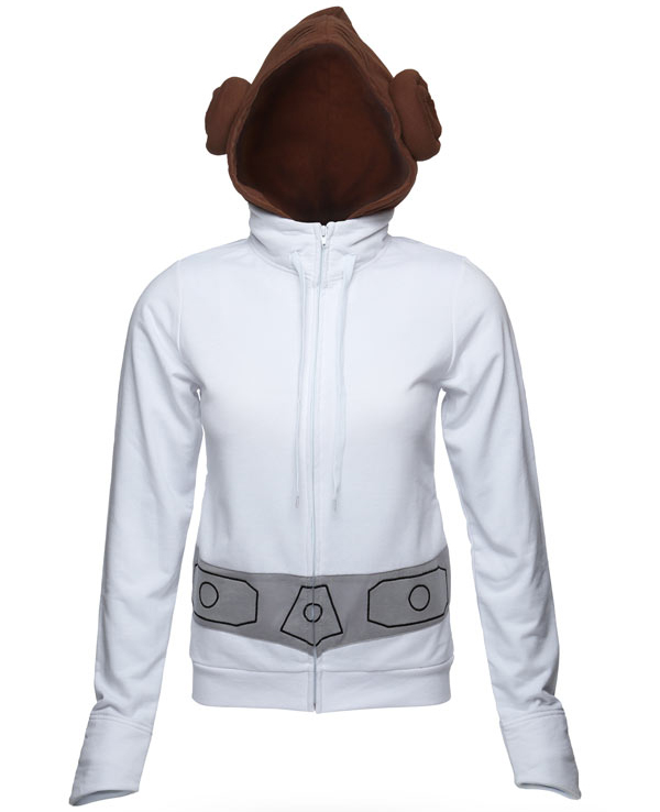 princess leia hoodie 2