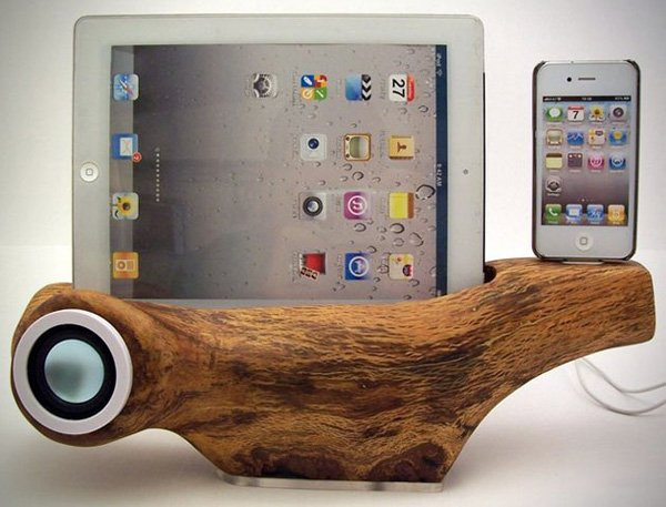 rockapplewood apple ios dock etsy front