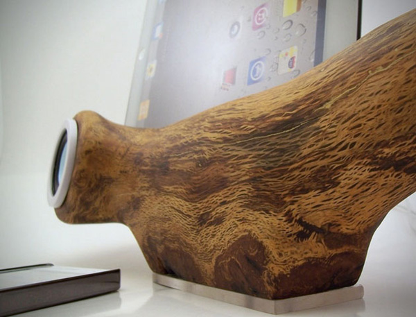 rockapplewood ipad iphone ipod dock