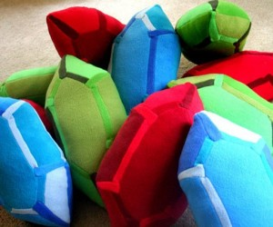 Legend of Zelda Rupee Pillows Cost More Than a Rupee Each