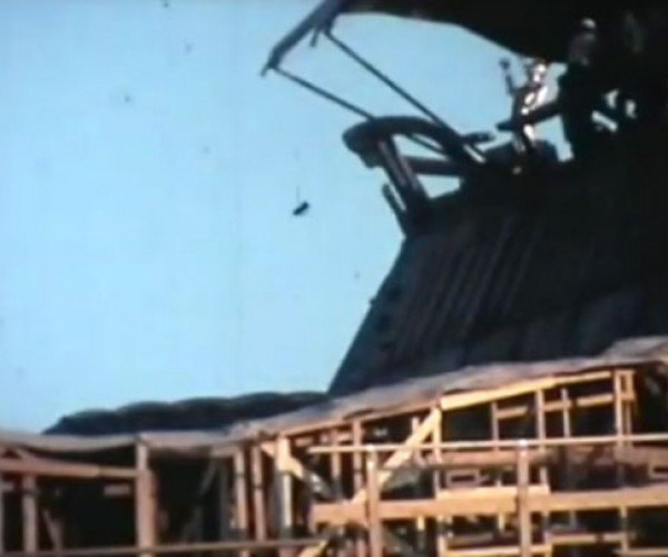 Return of the Jedi BTS Footage Shot in Sand-O-Vision