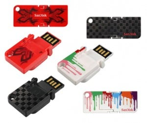 SanDisk Cruzer Pop Flash Drives are Thin, Flashy, and Crazy Colorful