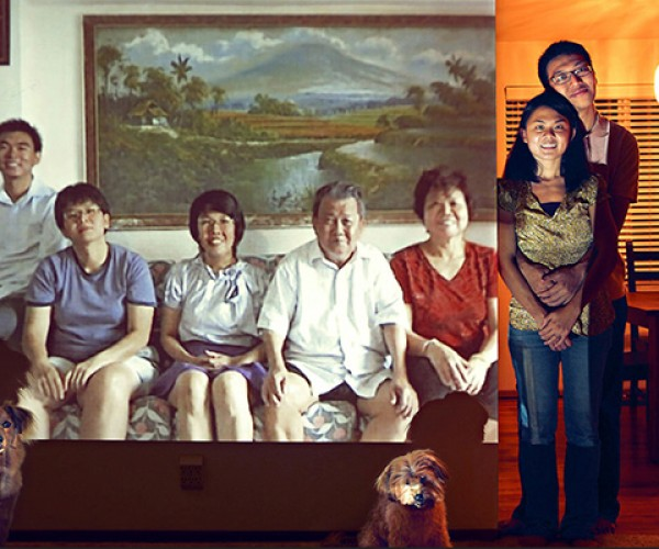 skype reunion family portraits by john clang 2