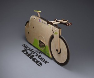 Spinterbike Quantum: The Record-Breaking All-Wood Bike You've Always Dreamed of?