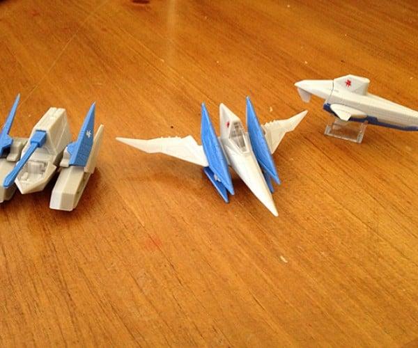 star fox 64 3d takara tomy arts figurines 5