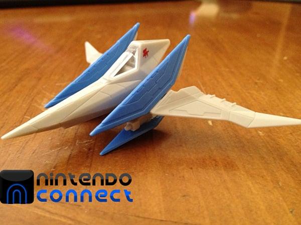 star fox 64 3d takara tomy arts figurines