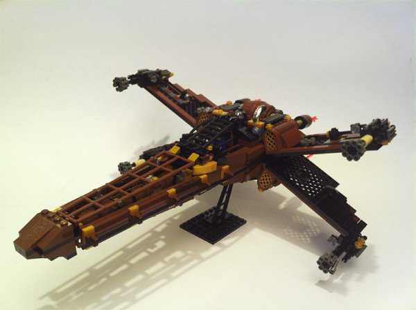 steampunk x wing