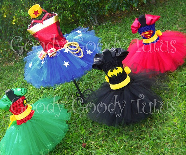 Superhero Tutus: Get Girls Ready for Batman Ballet