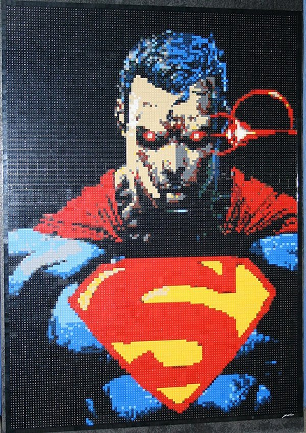 superman mosaic