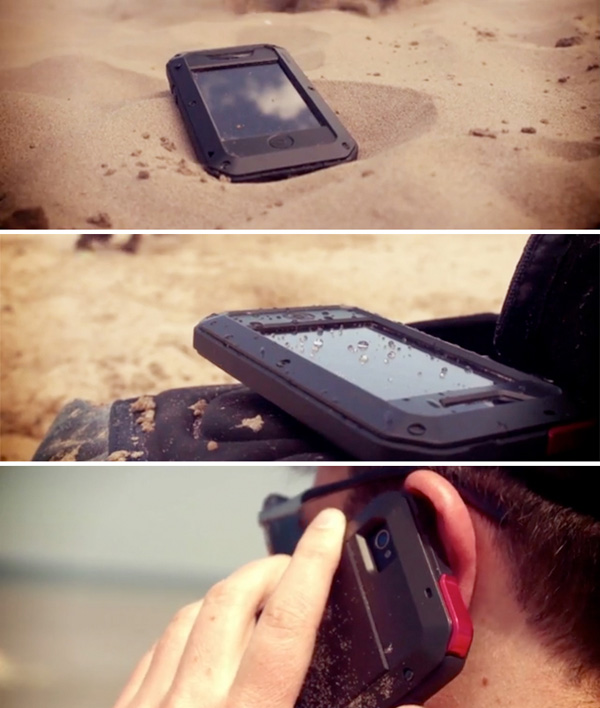 taktik minimal iphone case shock water proof