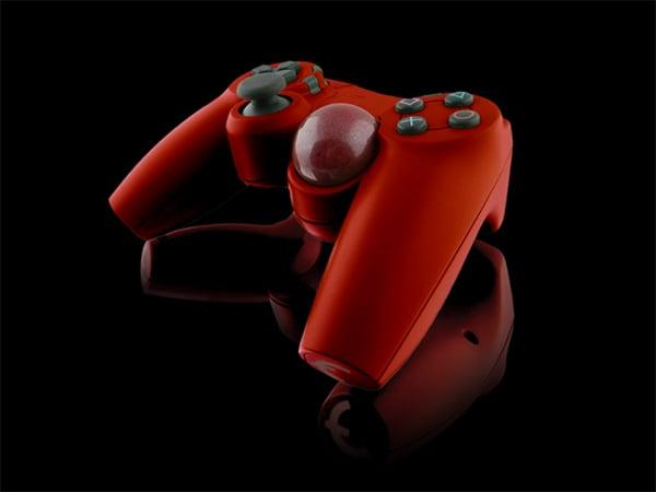 trackball pc game controller by peter von buskirk