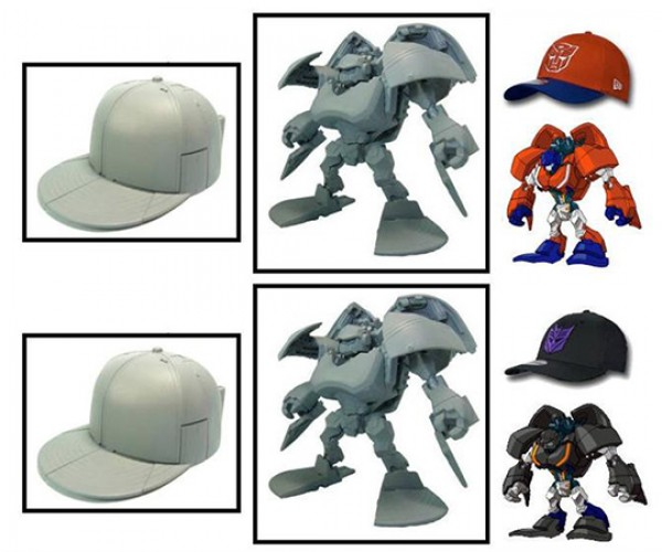Transformers Capbots: New Era Caps Hit with the All Spark