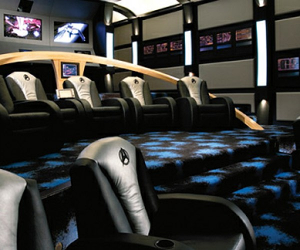 Star Trek Themed Home Theater is Highly Logical, Captain.