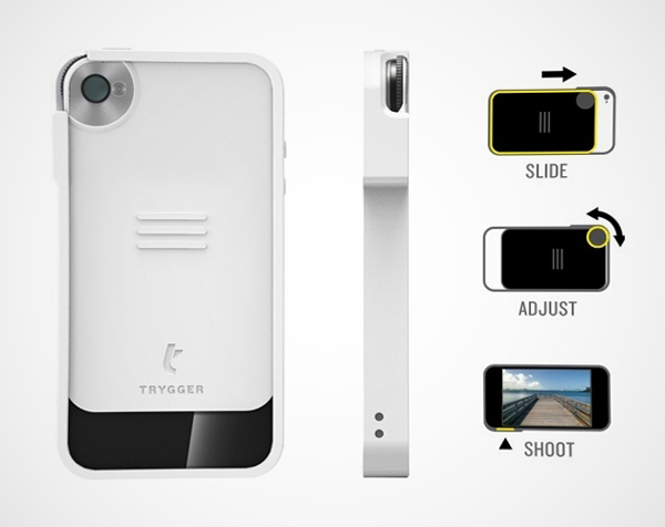 trygger iphone camera case polarizing filter