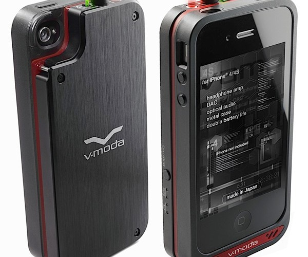 V-Moda VAMP Case for iPhone Adds Audiophile Amp, Thickness to Your Phone