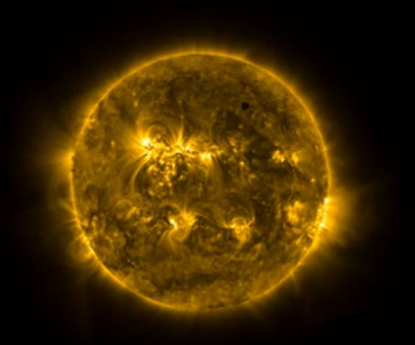 ESA Proba-2 Satellite Records Awesome Video of Venus Solar Transit