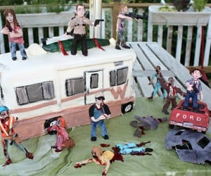 The Walking Dead Birthday Cake: for a Very Happy Undead Birthday