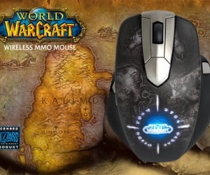 SteelSeries World of Warcraft Mouse Goes Wireless