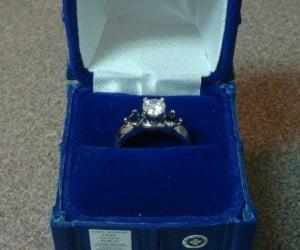 TARDIS Engagement Ring Box, for when Your Heart is Bigger on the Inside