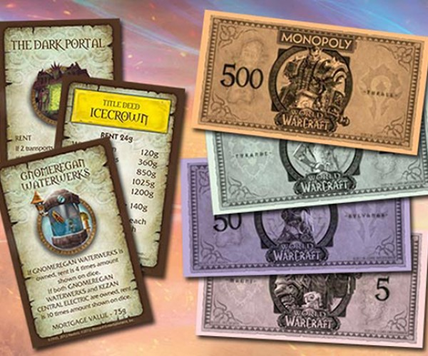 world of warcraft monopoly 5