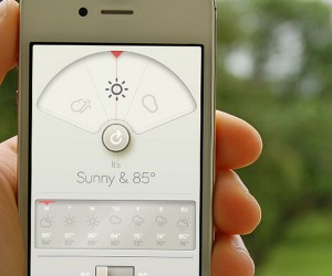 WTHR App for iOS: The Forecast Calls for a Beautiful UI