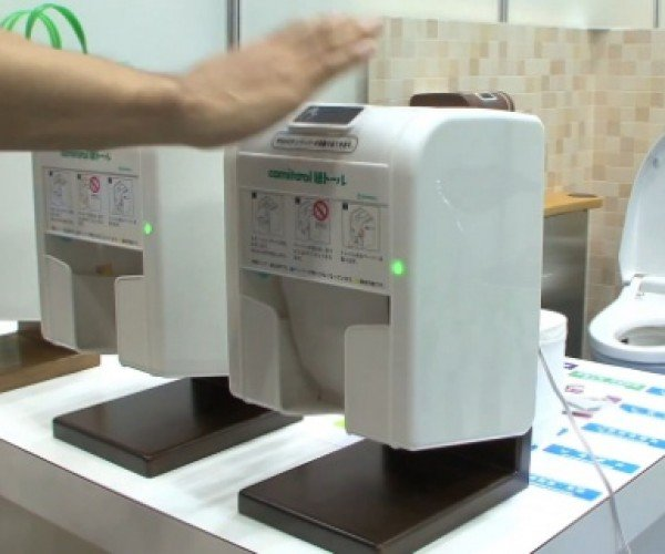 Automatic Toilet Paper Dispenser Perfect for Germophobes