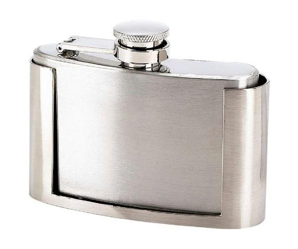 Belt Buckle Booze Flask