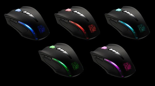 Black Element Cyclone Mouse