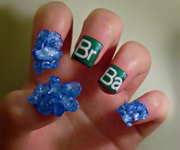 Breaking Bad Fingernails Make a Meth of Girl's Fingertips
