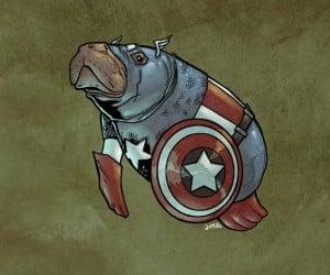 Captain America 300x250