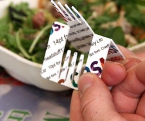 Credit Card Cutlery Puts a Fork in Your Wallet