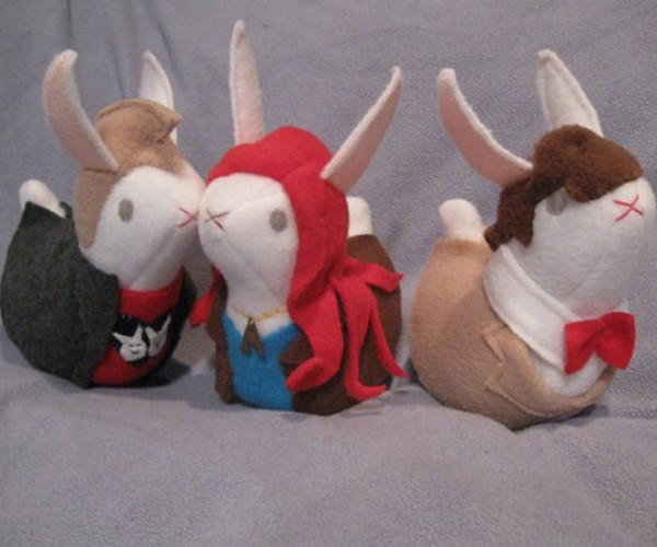 The Cast of Doctor Who in Bunny Form, Why Not?