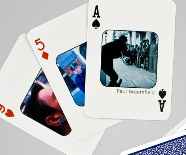 Personalized Facebook Playing Cards for Those Who Want to Play People, with People