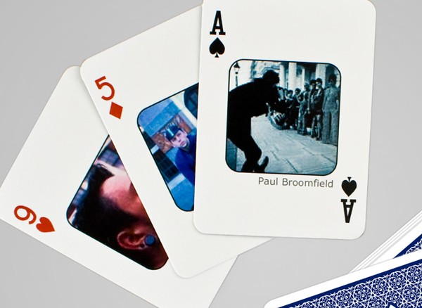 Facebook Playing Cards