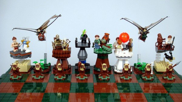 Lego chess set 1