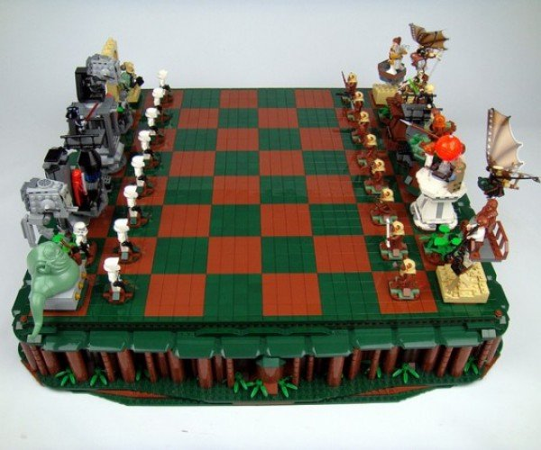 Return Of The Jedi LEGO Chess Set: Ewok to Walker 2, Check!