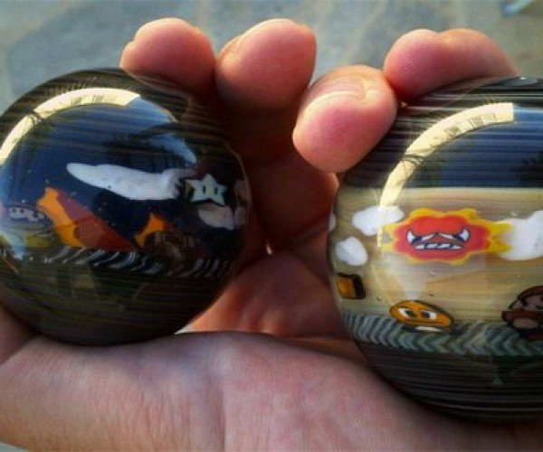 Super Mario Bros. Glass Marbles Blow Me Away