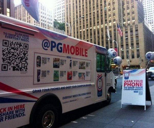 Procter & Gamble Promotes Mobile Shopping with Virtual QR Store