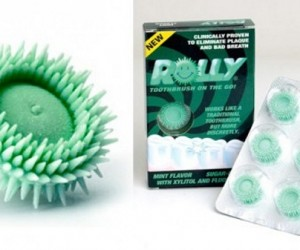 Too Lazy to Brush? Then Chew on a Rolly