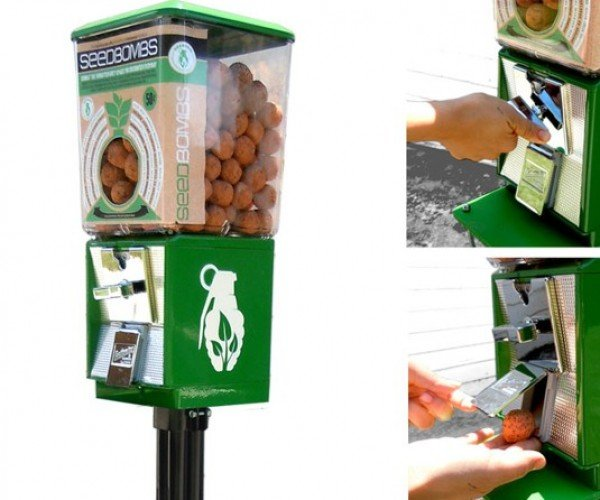 Seedbomb Vending Machine Makes the World Greener, One Seedbomb at a Time