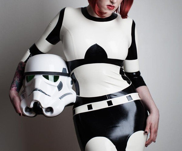 Stormtrooper Latex Dress: The Empire Gets Sexy
