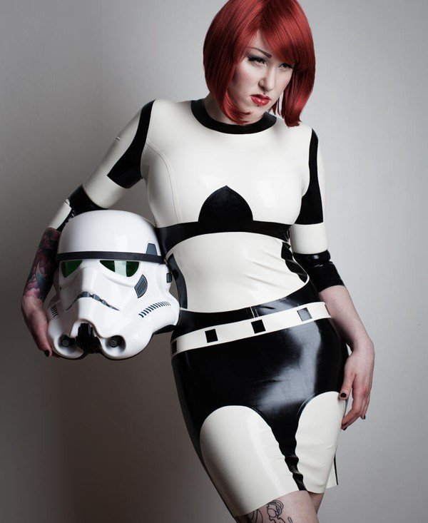 Star Wars Latex Dress