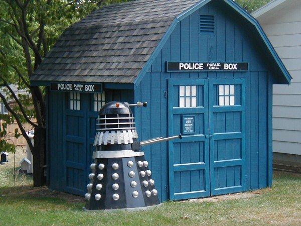 TARDIS Shed