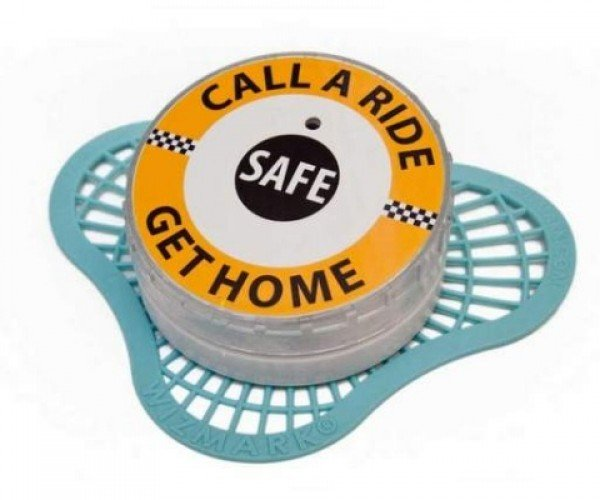 Talking Urinal Cakes Tell Drunks to Get a Cab While You Pee