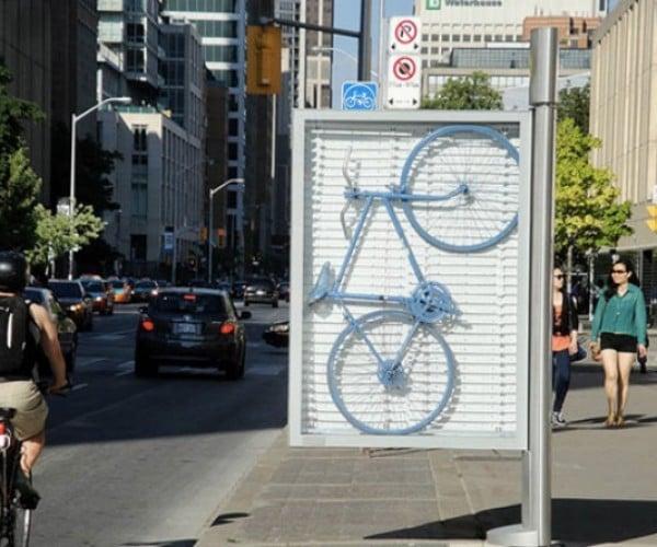 Urban Hacktivists Turn Toronto's Info Pillars into Modern Art with a Message