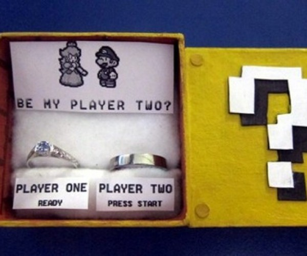 Mario Proposal Culminates a Match Made in Gamer Heaven