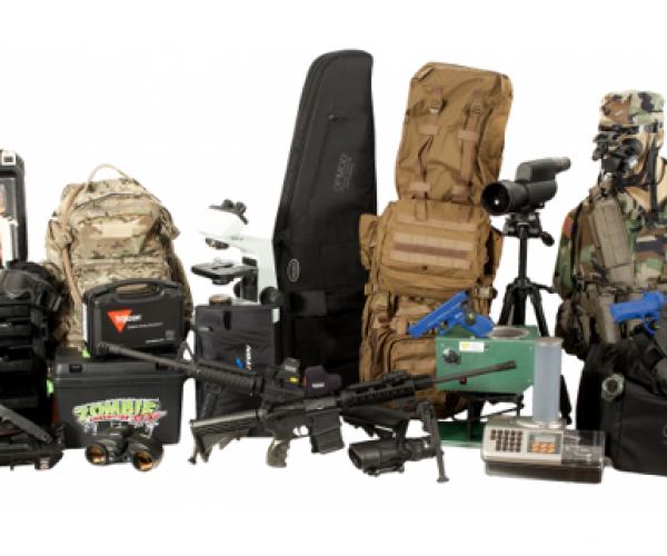 Z.E.R.O. Zombie Apocalypse Kit Makes Sure You Survive Hell and High Water